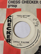 "BLUES PROMO 45/ LITTLE WALTER ""ROCK BOTTOM"" / ""KEY TO THE HIGHWAY""    HEAR"