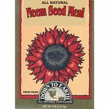 All Natural Neem Seed Meal Fertilizer to Strengthen Root Systems - 5 Pound
