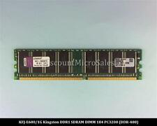 Kingston KFJ-E600/1G DDR 1GB 2x512MB PC-3200 Non ECC 400Mhz RAM Memory