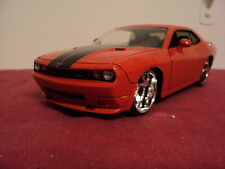 Jada 2008 Dodge Challenger SRT8 1:24 Scale  2011 release new no box  Orange