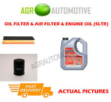 PETROL OIL AIR FILTER KIT + FS 5W40 OIL FOR FIAT PUNTO EVO 1.2 65 BHP 2009-12
