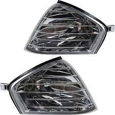 Blinker Blinkleuchten Set Satz Mercedes SL R129 Bj. 1989-2001 klar chrom