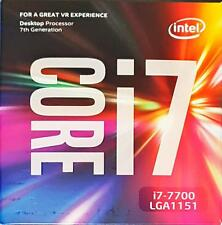Processor CPU Intel ↯ Kaby Lake ↯ i7-7700 LGA1151 ➽ Desktop PC | Box with Fan ✔