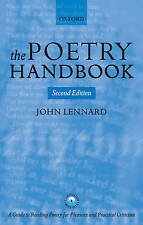 The Poetry Handbook by John Lennard (Paperback, 2006)