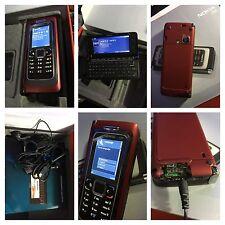 CELLULARE NOKIA E90 COMMUNICATOR ROSSO GSM 3G UMTS UNLOCKED SIM FREE DEBLOQUE