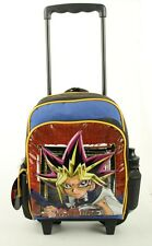 """Yu-Gi-Oh! Enter The Shadow Realm Small 12"""" Boys Rolling Backpack Kids Rolling"""