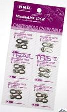 6 Pack - KMC Missing Link 10CR Chain Connector for 10-Speed Campagnolo / Campy