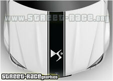 BS1402 Citroen DS3 bonnet racing stripes graphics decals stickers