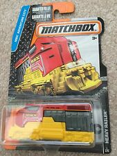 Matchbox 2016 #001/120 HEAVY RAILER red engine MBX ADVENTURE Case A New Casting