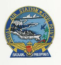 US NAVY PATCH - NAVAL AIR STATION CUBI POINT, BATAAN, PHILIPPINES