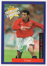Panini 1996 Estrellas Europeas Spanish Issue Card Ryan Giggs Manchester United