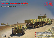 ICM 1/35 35803 WWII German V3000S/SS M (Sd.Kfz.3b) Maultier with 7.62cm Pak36(r)