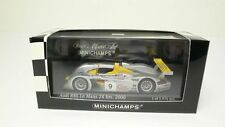 Audi R8 #9, McNish 2nd 2000 Le Mans Cars, Minichamps 430000909  Diecast 1/43 NEW