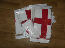 "JOBLOT NEW 10 ENGLAND BANDANAS  21""X 21"" POSTAGE FREE100% COTTON --MAKE PROFITS"