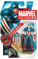 "CAPTAIN AMERICA WWII ww2 vintage Marvel Universe NEW 3.75"" Figure"