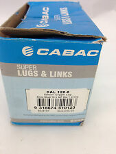 CABAC CAL 120-8 120mm ²  Copper Lug 8mm stud Box of 25
