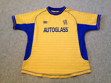 Chelsea Vintage Away Shirt Boys Aged 11 -13 Years  Autoglass Season 2000 (M5)