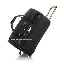 Samantha Brown Ultra Lightweight Weekender Bag Black New With Tags