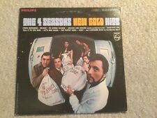 THE FOUR SEASONS - NEW GOLD HITS - VG++ STEREO PHILIPS 600-243 RECORD 1967