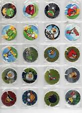ANGRY BIRDS Tazos Pogs Frito Lay Colombia Colección Completa 1-48 Complete set
