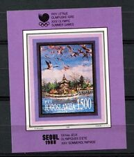 Yugoslavia 1988 SG#MS2441 Olympic Games, Birds MNH M/S #A33152A
