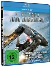 3D Blu-ray * Star Trek - Into Darkness -  3 D Single - Chris Pine # NEU OVP =