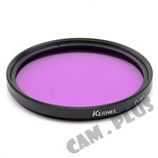 67mm Color Purple Camera Lens Filter For Sony Panasonic Canon Nikon Pentax