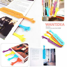 4Pcs Funny Help Me Bookmarks Pad Note Stationery Novelty Book Mark Interesting