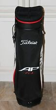 Titleist AP 714 Cart Golf Bag (Red, Black and White)  MINT