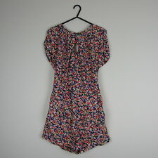 New Womens Topshop Floral Playsuit Size 8(Style/Fashion/Summer/Holiday/Clothing)