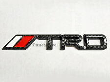 Toyota TRD Carbon Fiber look emblem badge sticker CAMRY COLLORA 4RUNNER JDM New