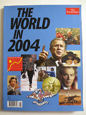The Economist The World in 2004 USA China Nelson Mandela Mars Rover (M688)