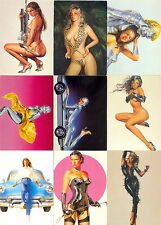 SORAYAMA SERIES 1 SEXY ROBOTS & PIN-UPS 1993 COMIC IMAGES BASE CARD SET OF 90 FA