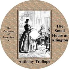 The Small House at Allington, Anthony Trollope Barsetshire Audiobook on 2 MP3 CD