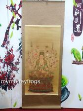"68"" LONG 1000 Hand Kwan Yin Chinese Oriental Wall Scroll Picture Buddha Goddess"