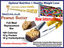 PEANUT BUTTER BAR Weight Loss Meal Replace | 6 Boxes | SIMILAR TO Optifast® 800