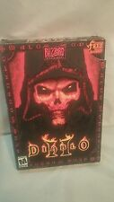 Diablo Computer Game Box Manual 2 discs(missing one)