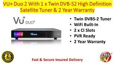 Available Now - VU+ VU Plus Duo 2 With 2 x DVB-S2 Tuners & 2 Year Warranty
