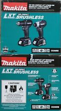 BRAND NEW Makita CX200RB Combo Set - Brushless Hammer Drill / Impact Wrench