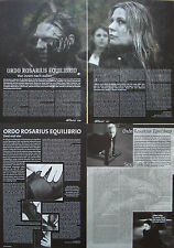 Ordo Rosarius Equilibrio  ___   Sammlung / Collection   ___   4  Seiten / Pages