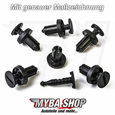 15x Plastic Mounting Clips for Renault Fiat Dacia 7703072361 51761163