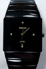 RADO SINTRA MEN'S WATCH JUBILE QUARTZ CERAMIC DIAMOND
