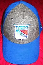 New Era Mens 39FIFTY® New York Rangers Blue / Gray Hat Sz L-XL - LAST ONE