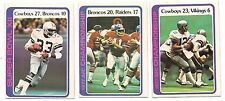 1978 Topps Playoff Football Card Lot (3  Different)