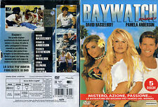 1 BOX 5 DVD FILM SERIE TV 90-BAYWATCH STAGIONE SEASON V COMPLETA pamela anderson