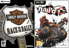 Harley davidson motorcycles race to the rally & clou new & sealed