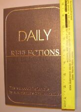 Alcoholics Anonymous AA DAILY REFLECTIONS LARGE PRINT Recovery Sobriety SOBER