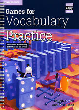 CAMBRIDGE COPY COLLECTION Games for Vocabulary Practice FOR ALL LEVELS @NEW@