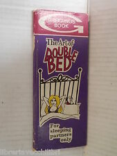 THE ART OF DOUBLE BED For sleeping partners only Wolfe Publishing inglese libro