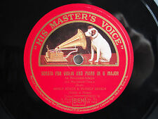 78rpm ADOLF BUSCH + RUDOLF SERKIN play BACH Sonata in G Major